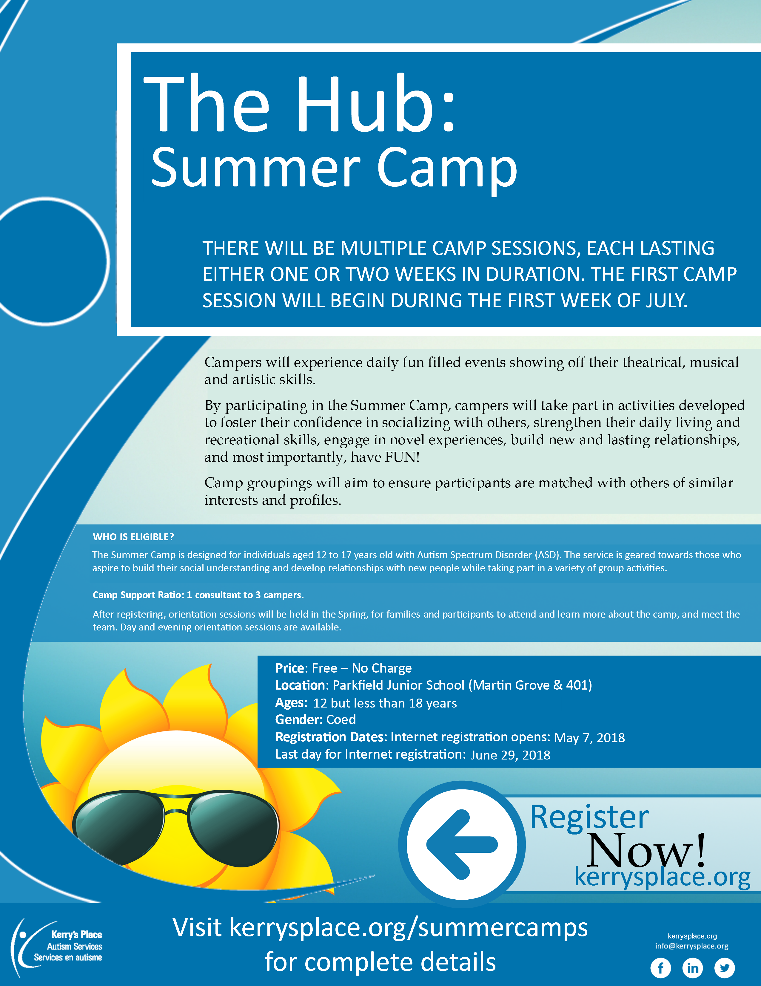 The Hub: Summer Camp – Kerry's Place