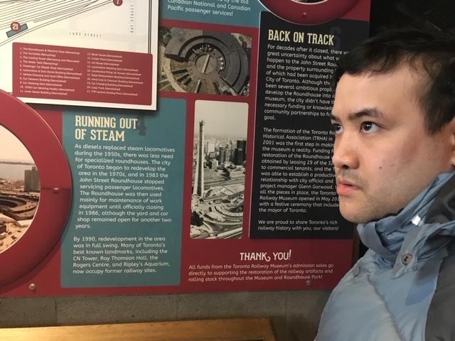 Toronto Railway Museum – Kerry's Place